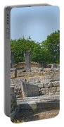 Roman Ruins Near St. Remy In Provence Portable Battery Charger