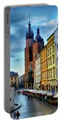 Romance In Krakow Portable Battery Charger