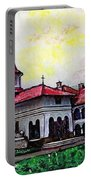 Romanian Monastery Portable Battery Charger