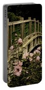 Romantic Garden And Bridge Portable Battery Charger