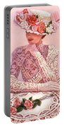 Romantic Lady Portable Battery Charger