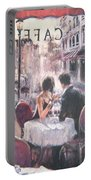 Romantic Meeting 3 Portable Battery Charger
