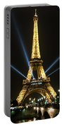 Romantic Night In Paris Portable Battery Charger