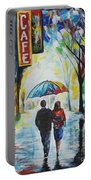Romantic Night Out Portable Battery Charger