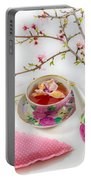 Romantic Pinks And Violets 1 Portable Battery Charger