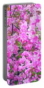 Romantic Skies Apple Blossoms  Portable Battery Charger