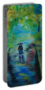 Romantic Stroll Portable Battery Charger