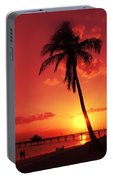 Romantic Sunset Portable Battery Charger