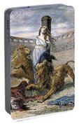 Rome: Christian Martyrs Portable Battery Charger