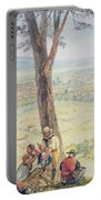 Rome From Monte Mario Portable Battery Charger