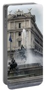 Rome Italy Fountain  Portable Battery Charger