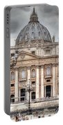 Rome Italy St. Peter's Basilica Portable Battery Charger