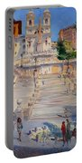 Rome Piazza Di Spagna Portable Battery Charger