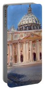 Rome Piazza San Pietro Portable Battery Charger