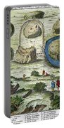Rome: Seven Hills, 18th C Portable Battery Charger