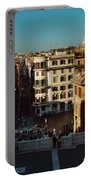 Rome Spanish Steps View Portable Battery Charger