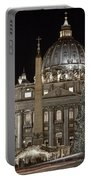 Rome Vatican Portable Battery Charger by Joana Kruse