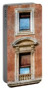 Rome Windows And Balcony Textured Portable Battery Charger