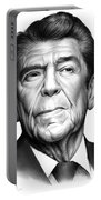Ronald Reagan Portable Battery Charger