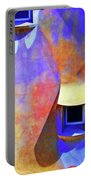 Rooftop Windows - Casa Mila Portable Battery Charger