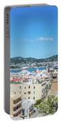 Rooftops Of Ibiza 4 Portable Battery Charger
