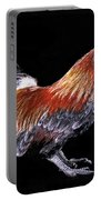 Rooster And Chicks Portable Battery Charger