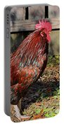 Rooster And Friend Portable Battery Charger