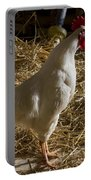 Rooster Crowing Portable Battery Charger