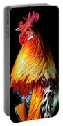 Rooster Portrait Portable Battery Charger