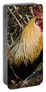Rooster Protecting Hen Portable Battery Charger