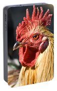 Rooster Up Close And Personal Portable Battery Charger