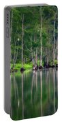 Roosting Egrets Portable Battery Charger