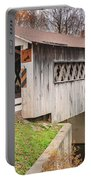 Root Rd Covered Bridge  Portable Battery Charger