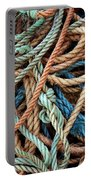 Rope Background Portable Battery Charger