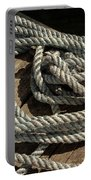 Rope On The Dock Portable Battery Charger