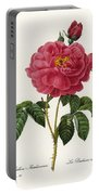Rosa Gallica Portable Battery Charger
