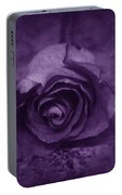 Rose - Purple Portable Battery Charger