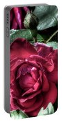 Rose And Bud Portable Battery Charger