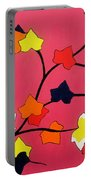 Rose Coloured Glow Portable Battery Charger