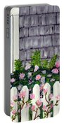 Rose Cottage Portable Battery Charger