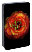 Rose Flower Color Abstract Portable Battery Charger
