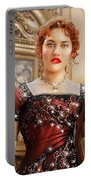 Rose From Titanic Portable Battery Charger