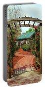Rose Garden Entrance Portable Battery Charger