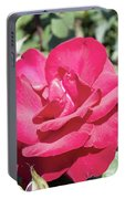 Rose In Bloom Portable Battery Charger