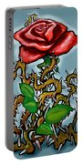 Rose N Thorns Portable Battery Charger