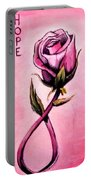 Rose Of Hope Portable Battery Charger