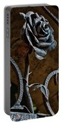Rose Of Iron Portable Battery Charger