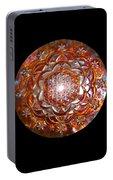 Rose Of Life Copper Lightmandala Portable Battery Charger
