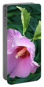 Rose Of Sharon Portable Battery Charger