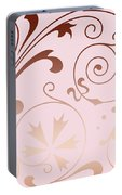 Rose Quartz Gold Komingo Portable Battery Charger